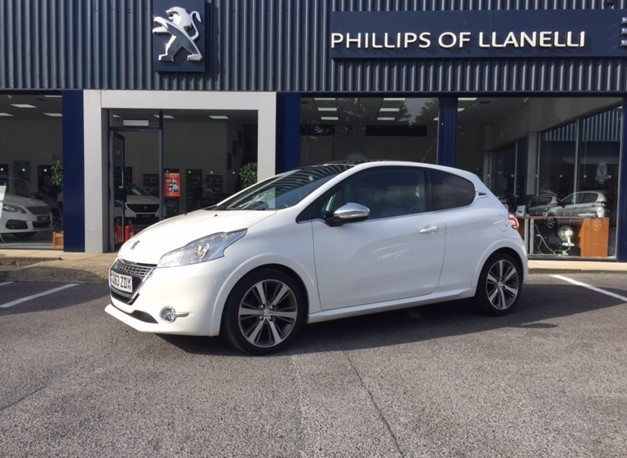 used Peugeot 208 E-HDI XY in llanelli-south-wales