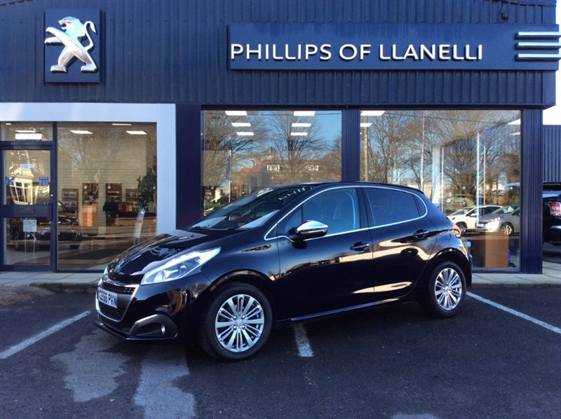 used Peugeot 208 BLUE HDI ALLURE in llanelli-south-wales