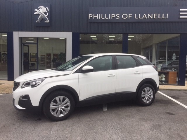 used Peugeot 3008 S/S ACTIVE in llanelli-south-wales
