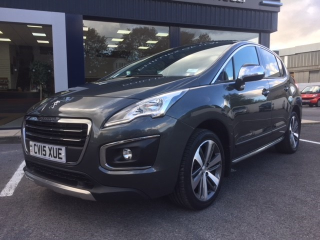 used Peugeot 3008 BLUE HDI S/S ALLURE in llanelli-south-wales