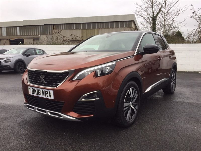 used Peugeot 3008 THP S/S GT LINE in llanelli-south-wales