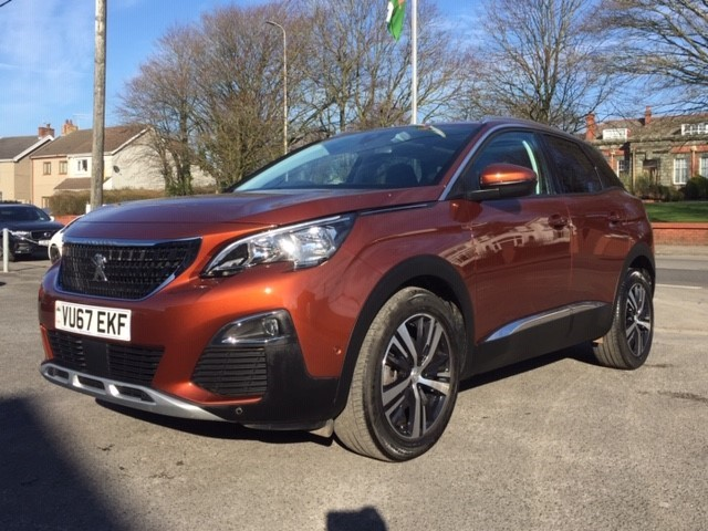 used Peugeot 3008 S/S ALLURE in llanelli-south-wales