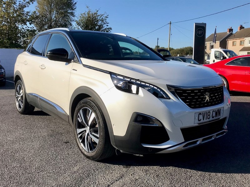 used Peugeot 3008 BLUEHDI S/S GT LINE in llanelli-south-wales