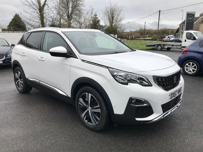 used Peugeot 3008 BLUEHDI S/S ALLURE in llanelli-south-wales