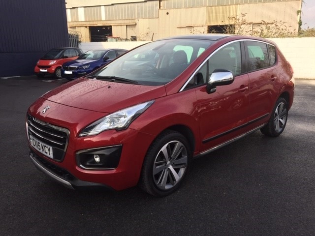 used Peugeot 3008 HDI ALLURE in llanelli-south-wales