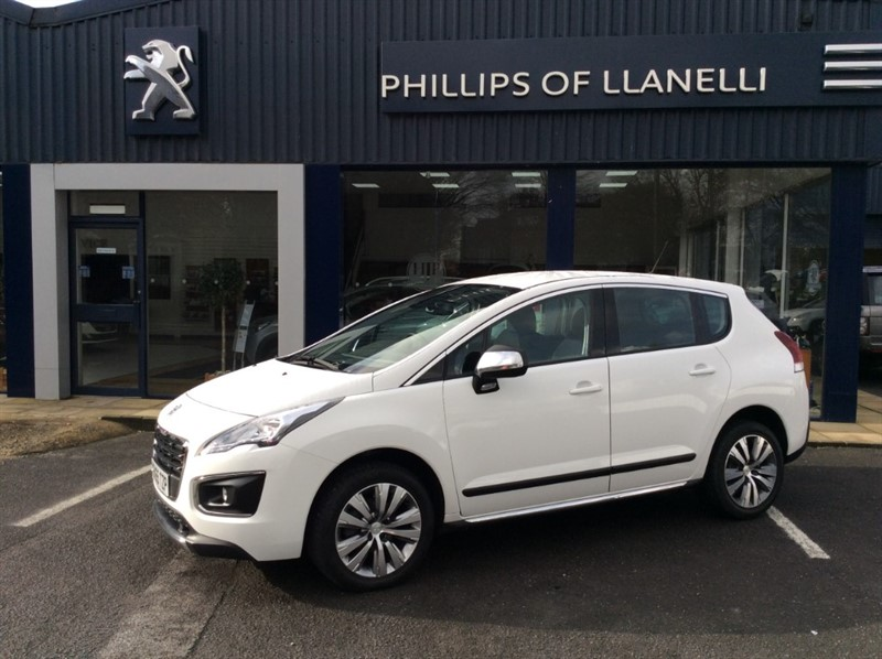 used Peugeot 3008 E-HDI ACTIVE in llanelli-south-wales