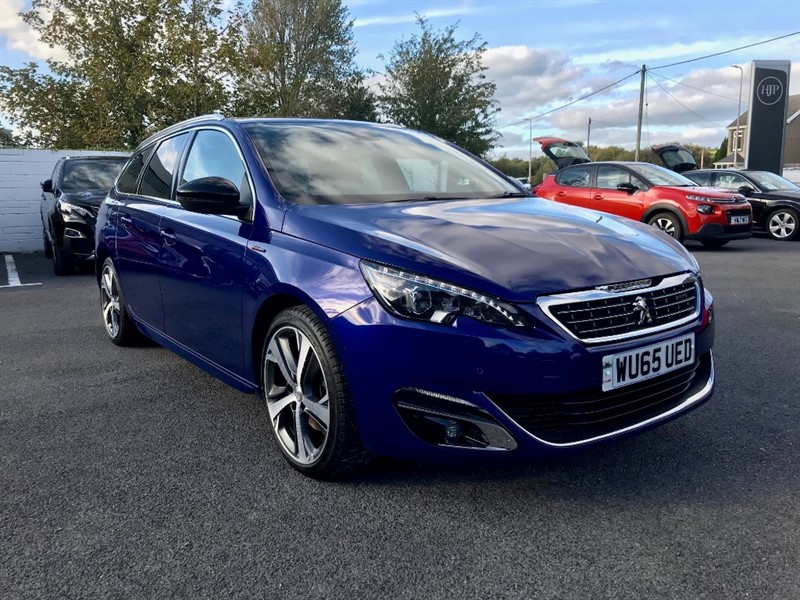 used Peugeot 308 BLUE HDI S/S SW GT LINE in llanelli-south-wales