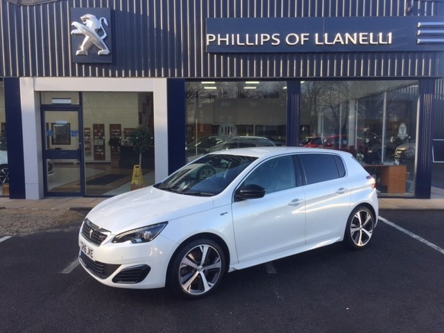 used Peugeot 308 THP S/S GT in llanelli-south-wales