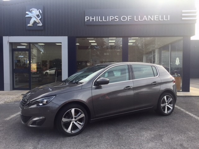 used Peugeot 308 S/S ALLURE in llanelli-south-wales