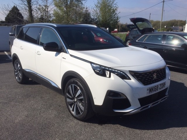 used Peugeot 5008 BLUEHDI S/S GT LINE PREMIUM in llanelli-south-wales