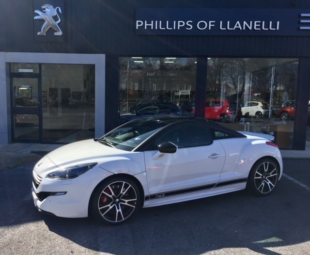 used Peugeot RCZ THP R in llanelli-south-wales