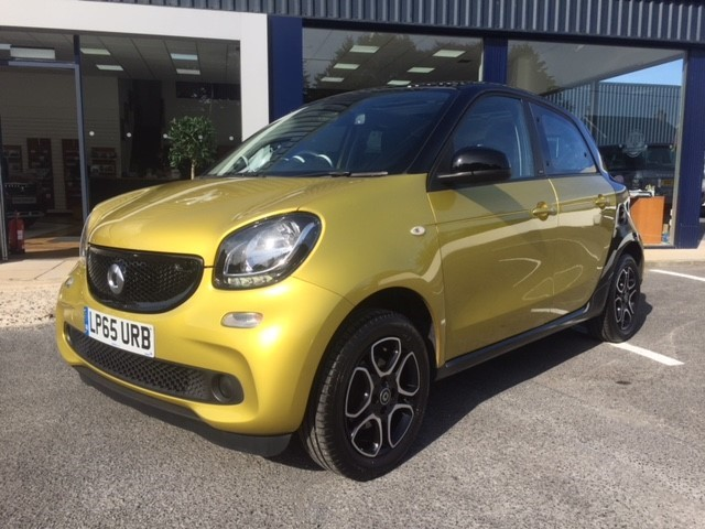 used Smart Car Forfour PRIME PREMIUM in llanelli-south-wales