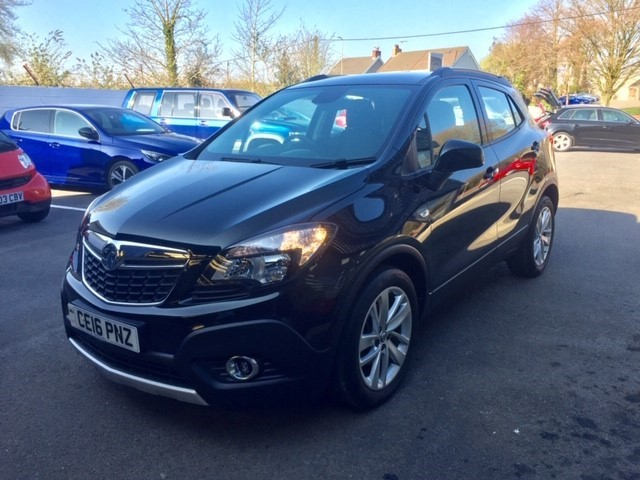 used Vauxhall Mokka EXCLUSIV S/S in llanelli-south-wales