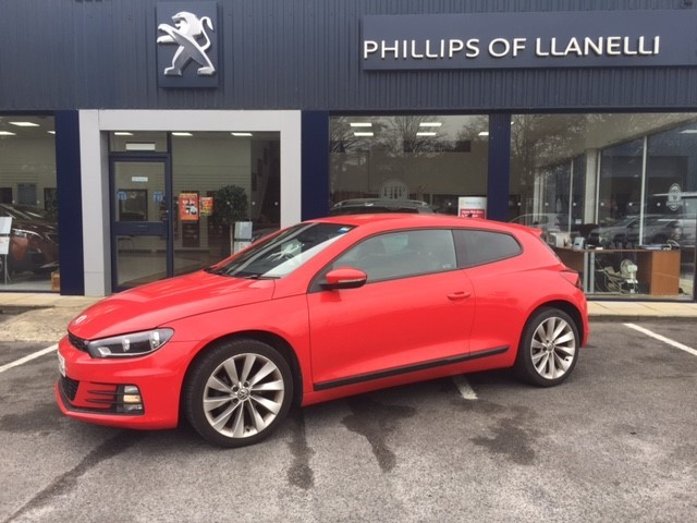 used VW Scirocco GT TSI BLUEMOTION TECHNOLOGY in llanelli-south-wales