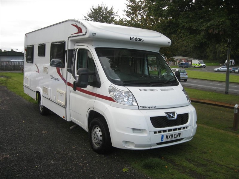 used Elddis Autoquest Autoquest 155 2011 in borders