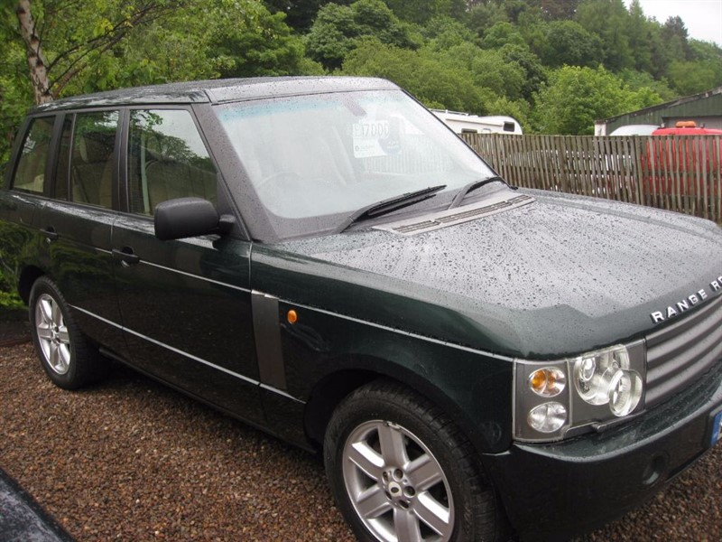 used Land Rover Range Rover V8 VOGUE in borders