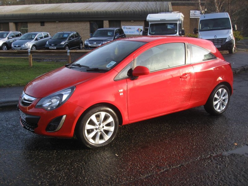 used Vauxhall Corsa EXCITE AC in borders