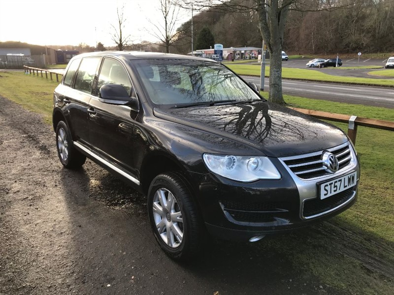 used VW Touareg V6 SE TDI in borders