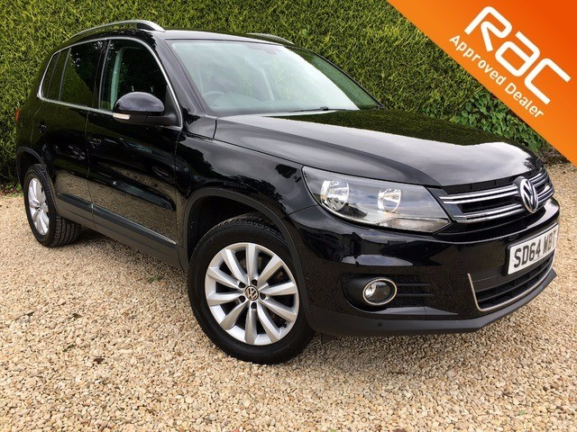 used VW Tiguan MATCH TDI BLUEMOTION TECH 4MOTION DSG in ramsden-oxfordshire