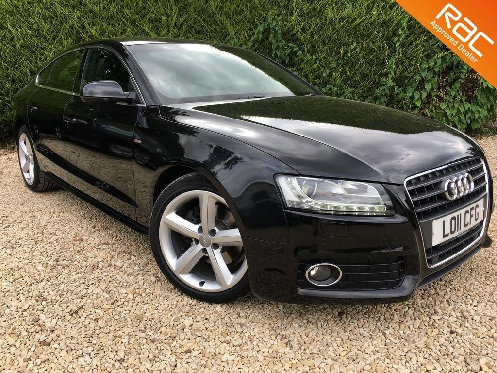 used Audi A5 SPORTBACK TFSI S LINE in ramsden-oxfordshire