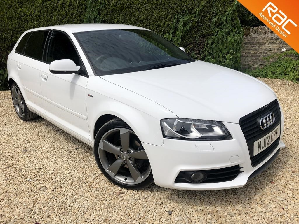 used Audi A3 SPORTBACK TDI S LINE SPECIAL EDITION in ramsden-oxfordshire