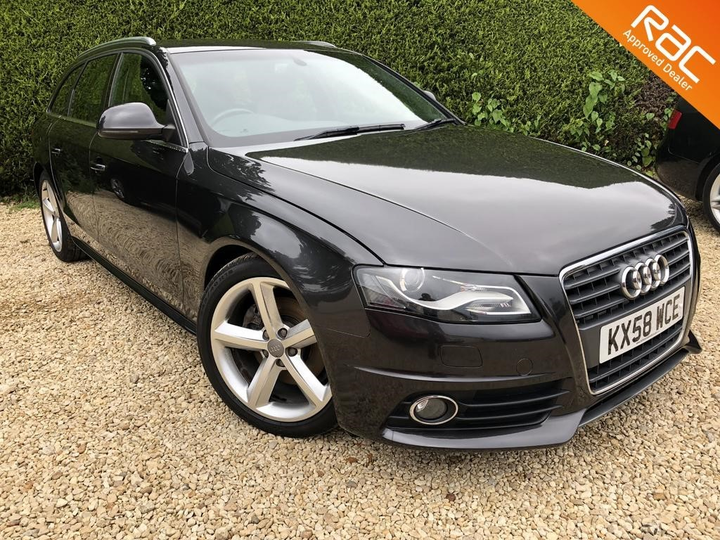 used Audi A4 AVANT TFSI S LINE in ramsden-oxfordshire