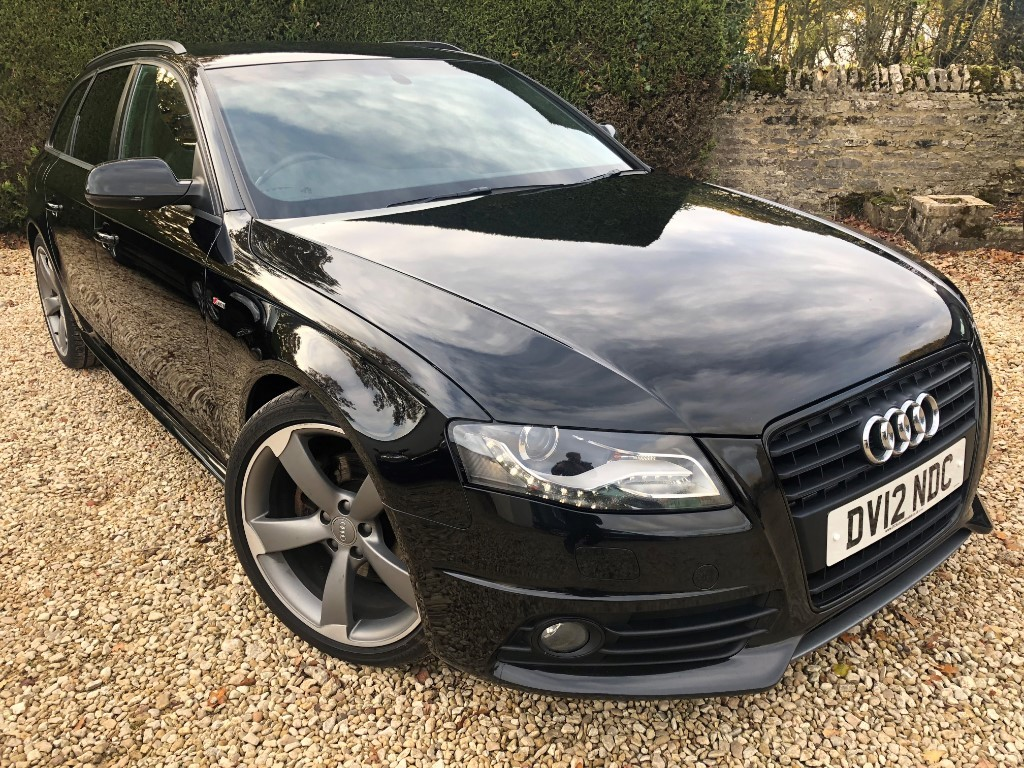 used Audi A4 AVANT TDI S LINE BLACK EDITION in ramsden-oxfordshire