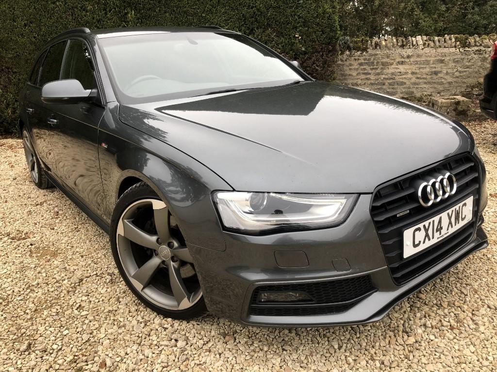 used Audi A4 AVANT TDI QUATTRO S LINE BLACK EDITION in ramsden-oxfordshire