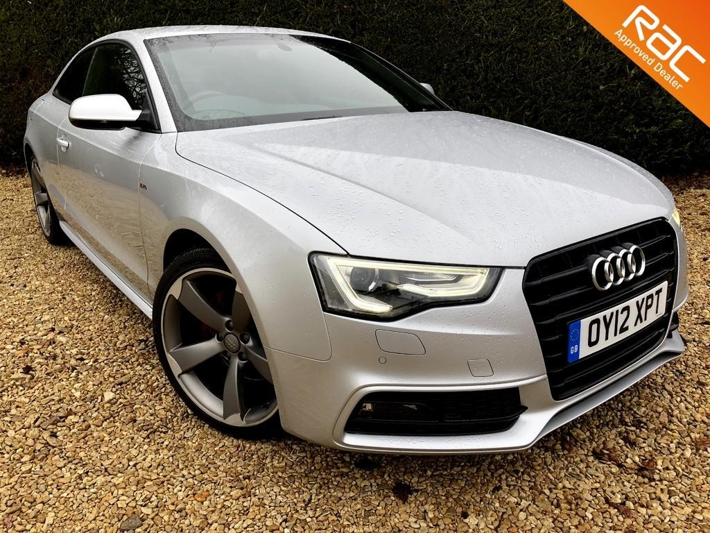 used Audi A5 TDI S LINE BLACK EDITION in ramsden-oxfordshire