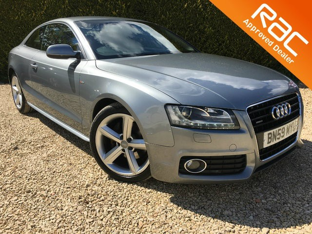used Audi A5 TDI S Line Tiptronic Quattro 2dr in ramsden-oxfordshire