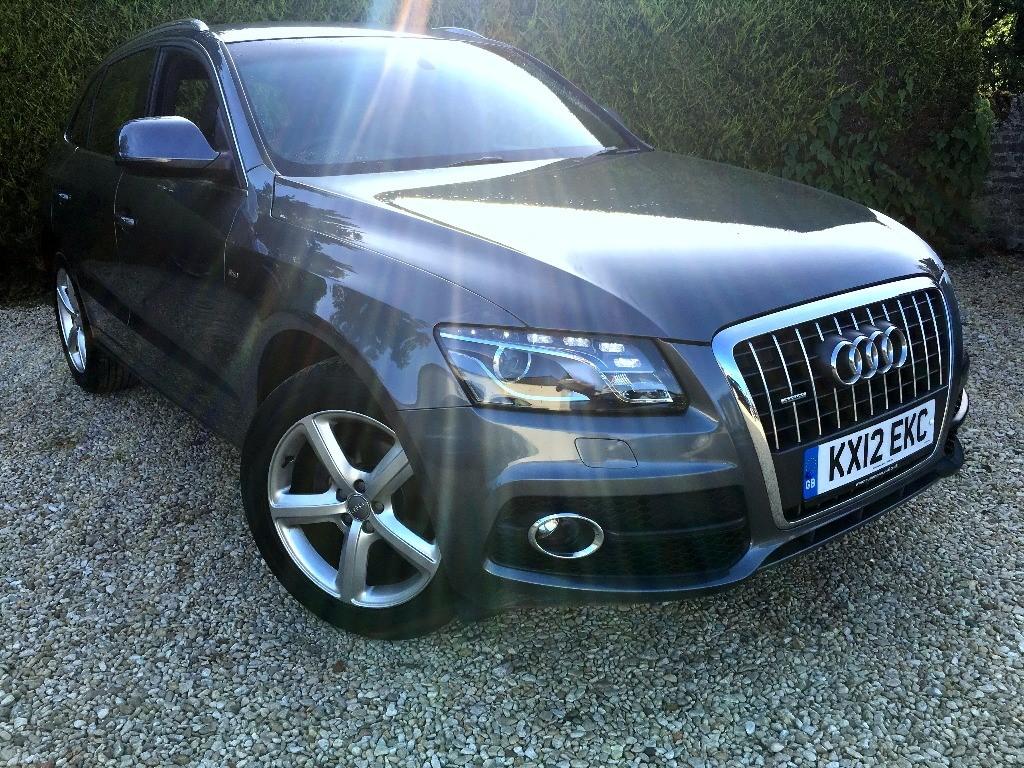 used Audi Q5 TDI S LINE in ramsden-oxfordshire
