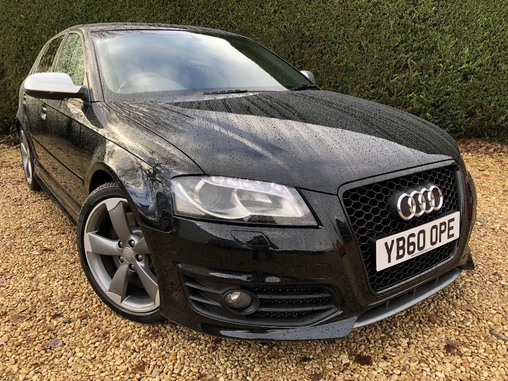 used Audi S3 SPORTBACK TFSI QUATTRO BLACK EDITION in ramsden-oxfordshire