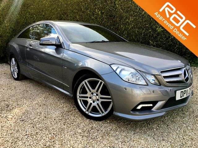 used Mercedes E250 E Class CDI BlueEFFICIENCY Sport 2dr in ramsden-oxfordshire