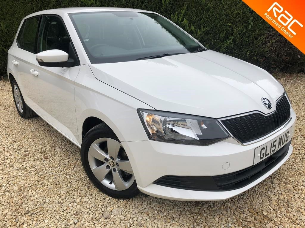 used Skoda Fabia SE TSI in ramsden-oxfordshire