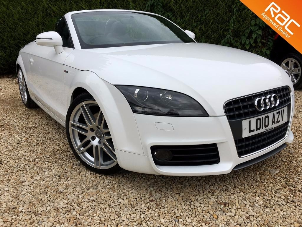 used Audi TT TFSI S LINE SPECIAL EDITION in ramsden-oxfordshire