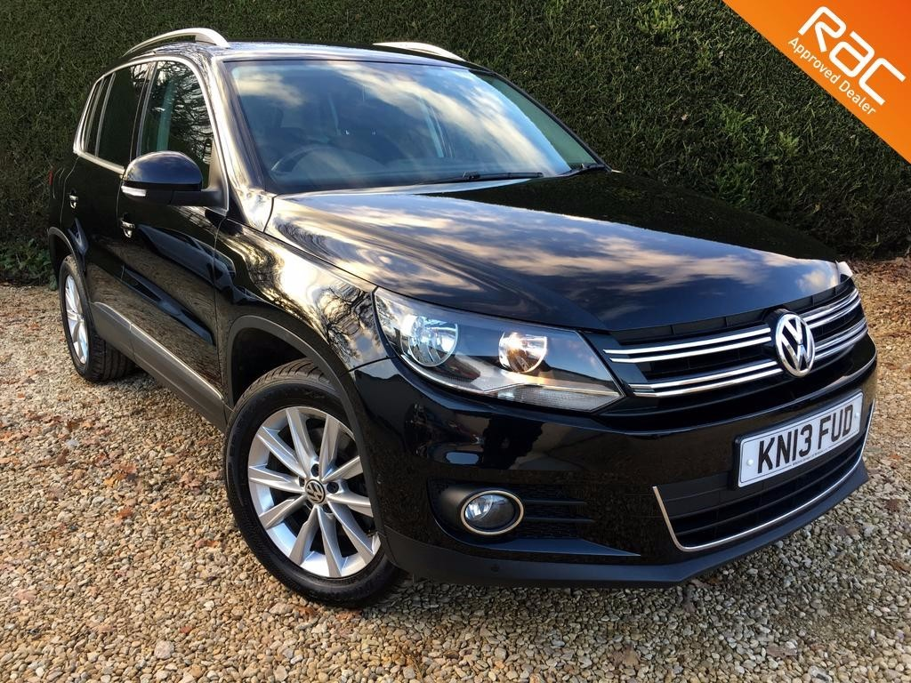 used VW Tiguan SE TDI BLUEMOTION TECHNOLOGY 4MOTION in ramsden-oxfordshire