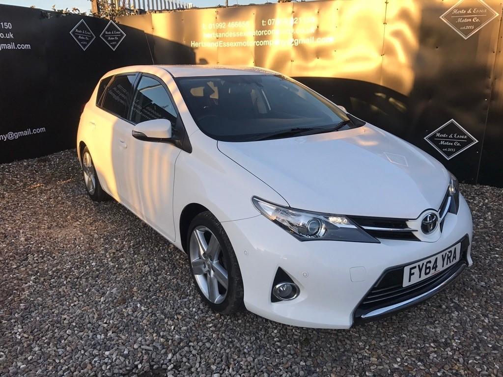 Toyota Auris Herts And Essex Motor Company Essex