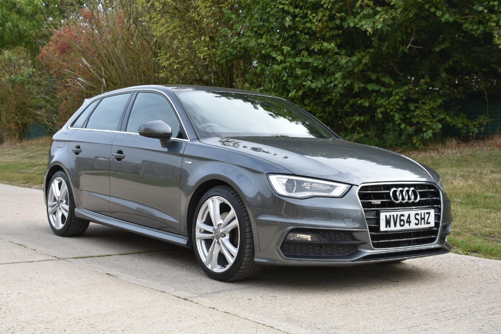 used Audi A3 TDI S LINE in Berkshire