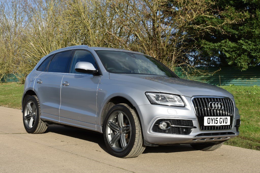 used Audi Q5 TDI QUATTRO S LINE PLUS in Berkshire