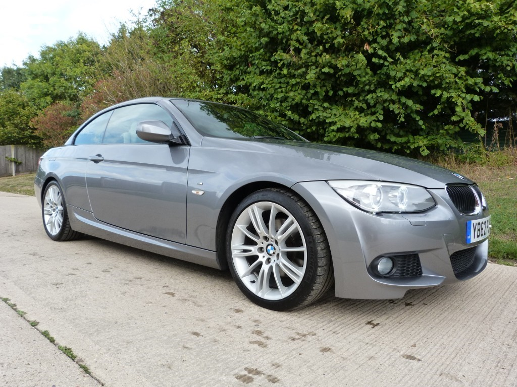 used BMW 320d M SPORT Convertible in Berkshire