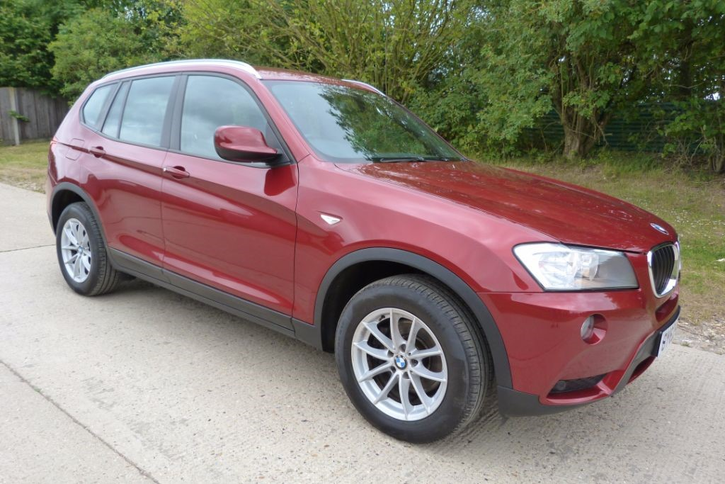 used BMW X3 XDRIVE20D SE in Berkshire