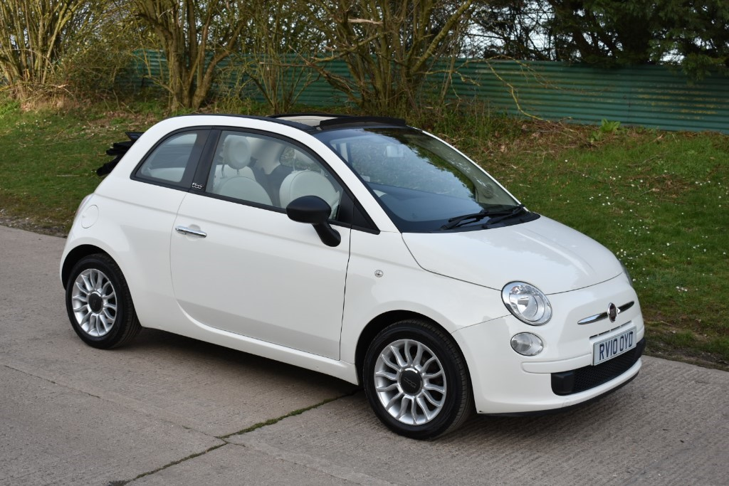 used Fiat 500 C POP in Berkshire