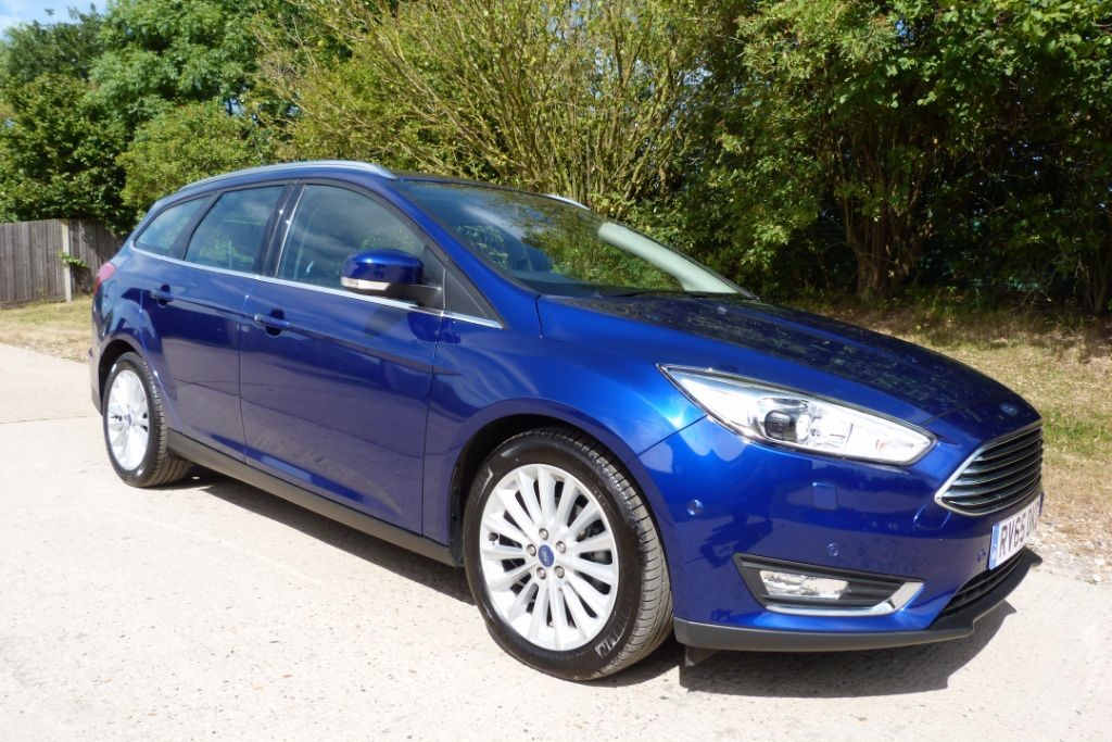 used Ford Focus TITANIUM X TDCI in Berkshire