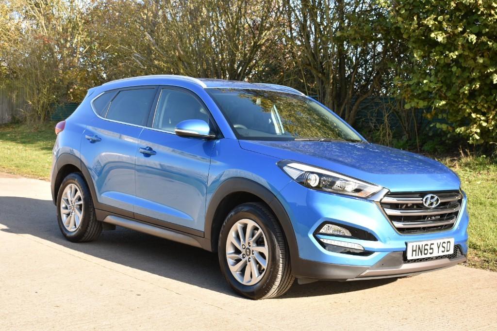 used Hyundai Tucson CRDI PREMIUM BLUE DRIVE in Berkshire