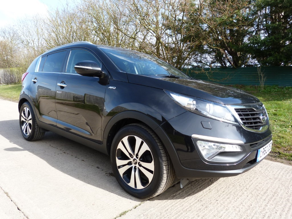 used Kia Sportage CRDI KX-3 in Berkshire