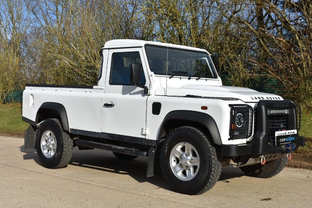 used Land Rover Defender 110 TD PICK UP in Berkshire