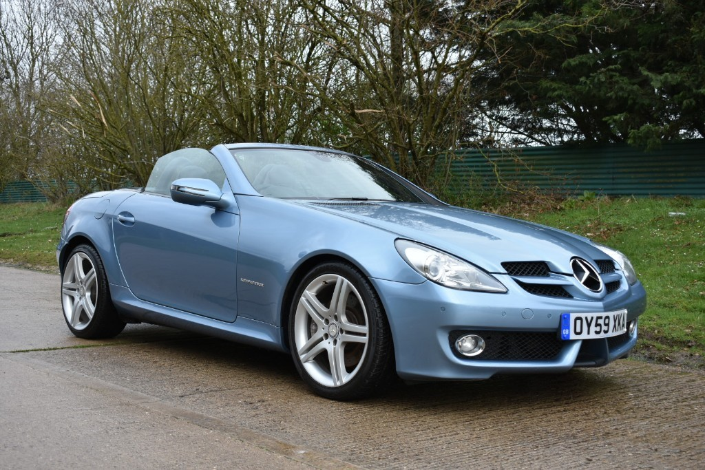 used Mercedes SLK200 SLK 200 KOMPRESSOR in Berkshire