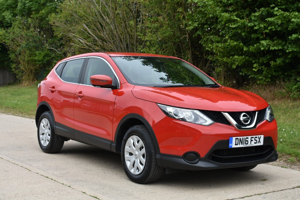 used Nissan Qashqai VISIA DIG-T in Berkshire