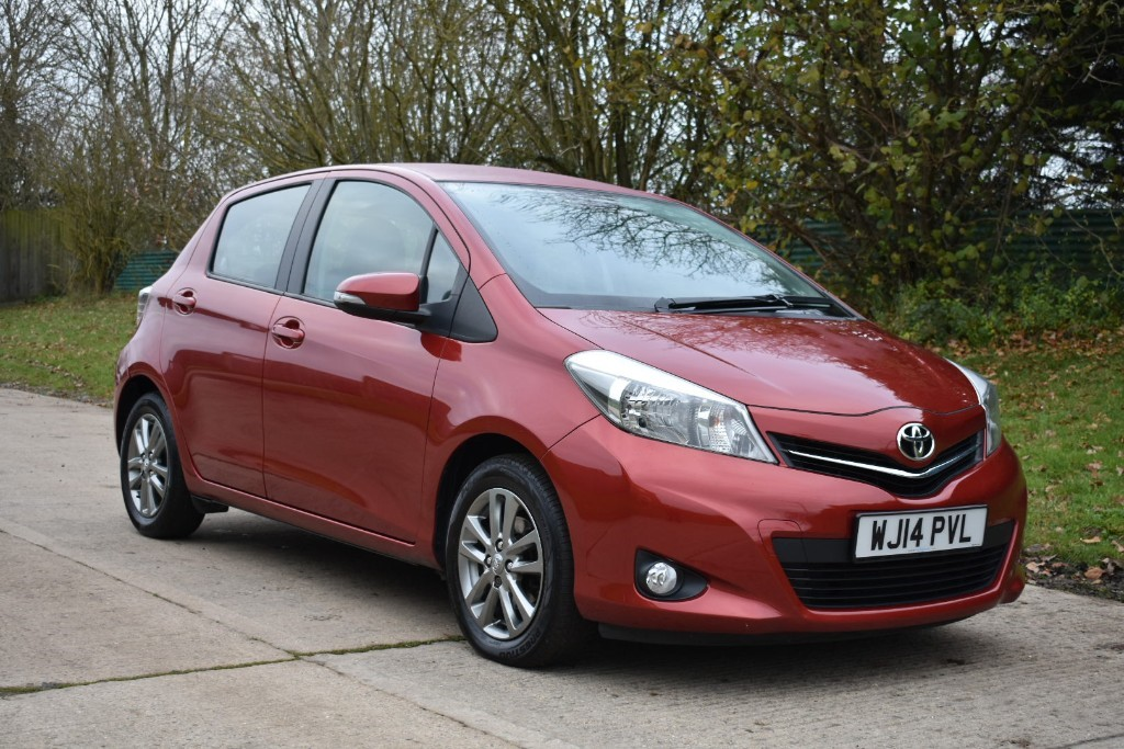 used Toyota Yaris VVT-I ICON PLUS in Berkshire