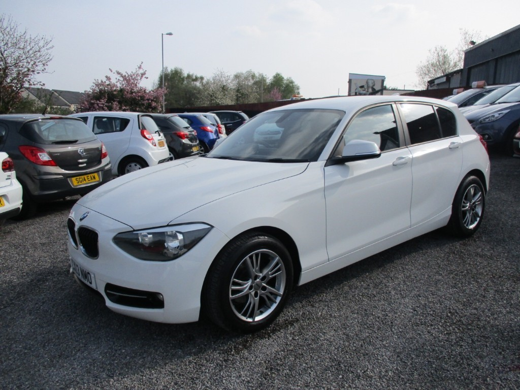 used BMW 118d SPORT in torfaen